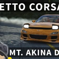 Mt. Akina Drift - Mazda RX-7 Tuned | Assetto Corsa [Oculus Rift CV1 + T300RS]