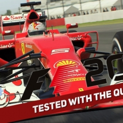 F1 2015 | Tested with the Quadstick