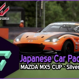 ASSETTO CORSA | JAPANESE CAR PACK | MAZDA MX5 CUP - SILVERSTONE | - ESPAÑOL HD -