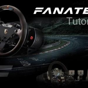 Fanatec tutorial  configurações de suas  funções
