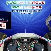 F1 2015 | 100% Monza | Fusion League Season 14