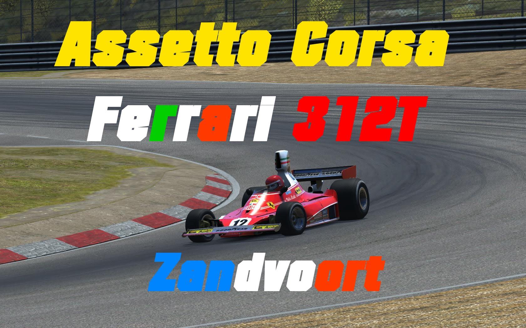 Assetto Corsa // Ferrari 312T // Zandvoort