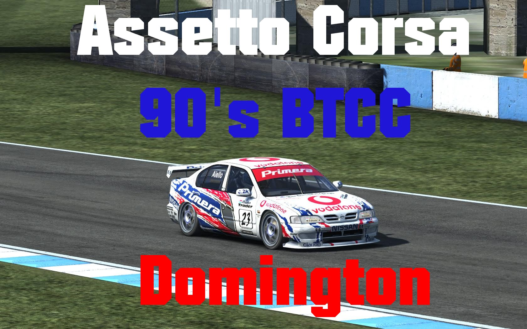 Assetto Corsa // 90's BTCC  // Mod // Vauxhall cavalier 1990 + Nissan Primera 1999