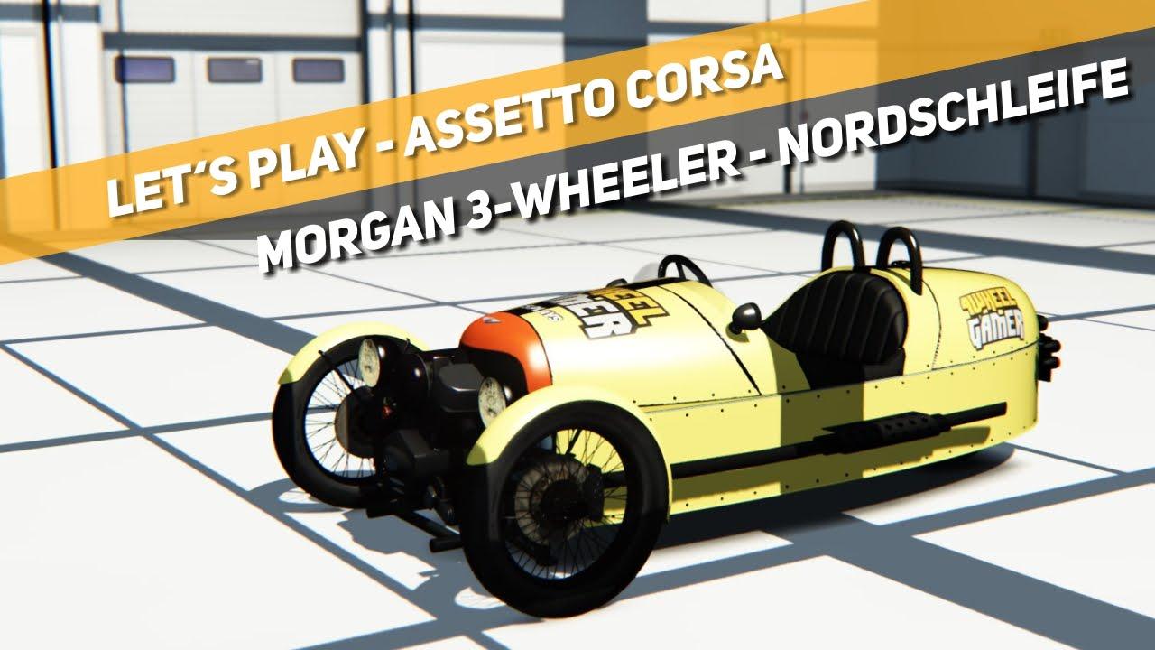 Assetto Corsa - Morgan 3-Wheeler - Nordschleife