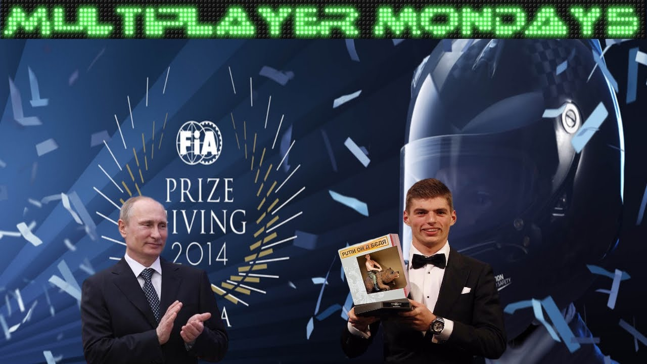 Multiplayer Mondays F1 2015 - Putin On...