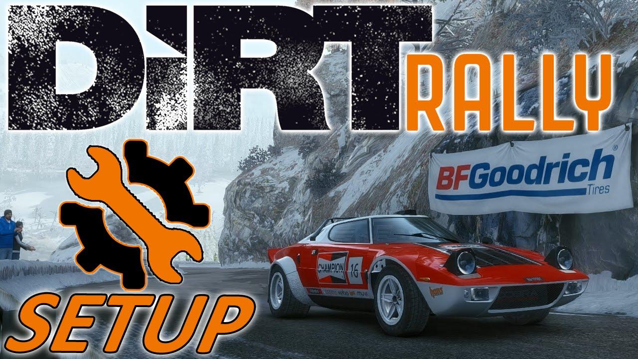 DiRT Rally - Controller - Lancia Stratos - Monaco - Mods - Setup Sunday 1440p