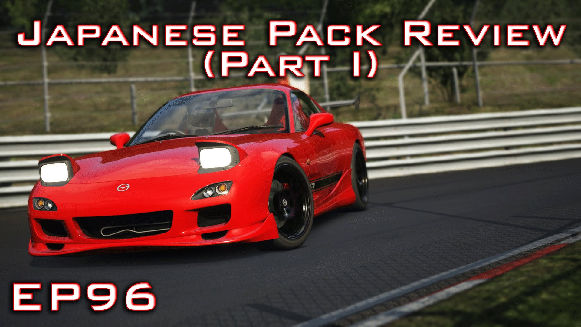 Assetto Corsa: Mazda RX-7 | Japanese Pack Review Part I - Episode 96