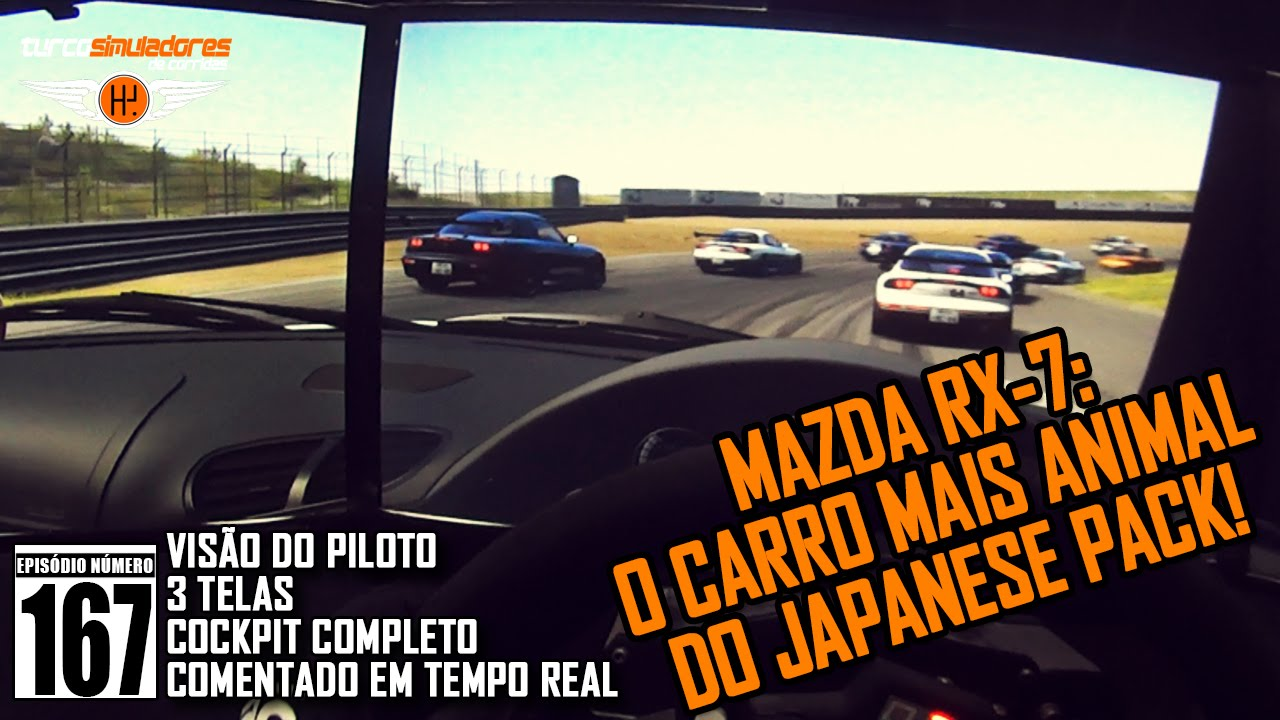 Mazda RX7 - the best car of the Japanese Pack