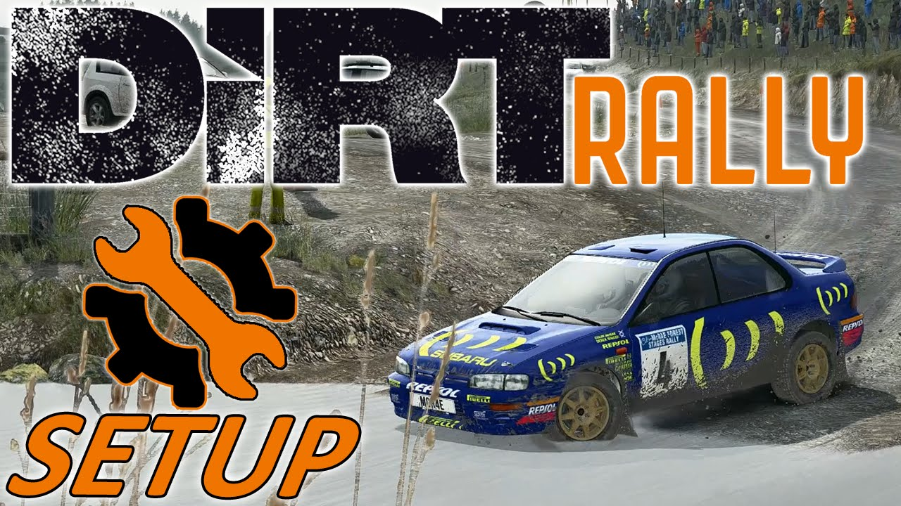DiRT Rally w/ Controller - Subaru Impreza - Wales - Mods - Setup Sunday 1440p