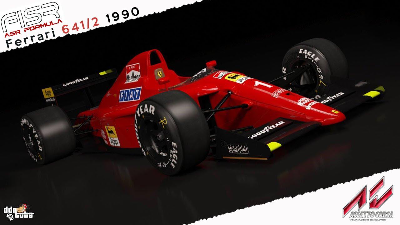Assetto Corsa Ferrari 641/2 1990 Real Onboard Cam
