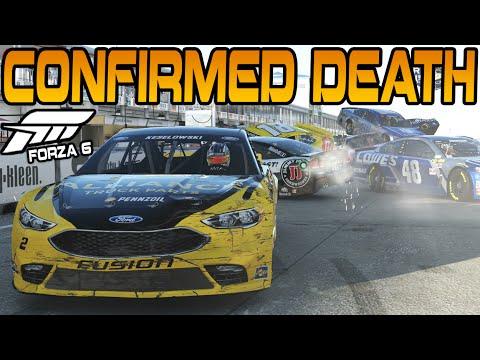 Forza 6 NASCAR PILEUP OF DEATH