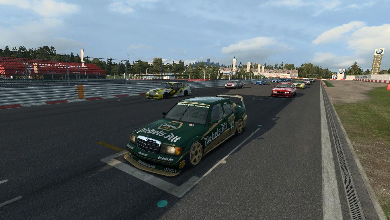 R3E - DTM92 Historic Touring Cars - Nurburgring GP - RaceDepartment