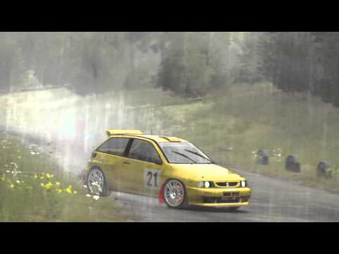 DiRT Rally - Seat ibiza kit Car- Mode Spectateur- (PC HD) [1080p]