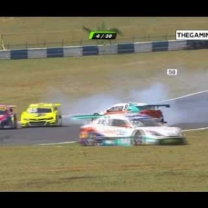 All crashes and fails of Stock Car Brasil Goiânia 2016