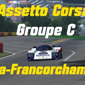 Assetto Corsa // Groupe C // Spa-Francorchamps