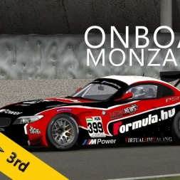 6 Hours of Monza | PSRL WEC 2014 | Balazs Toldi OnBoard | Start + 2h