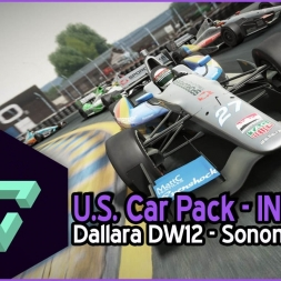 PROJECT CARS | U.S.  CAR PACK | DALLARA DW12 INDYCAR | SONOMA SPEEDWAY | GAMEPLAY ESPAÑOL HD.