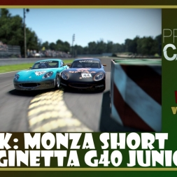 Project Cars - Monza Short - Ginetta G40 Junior