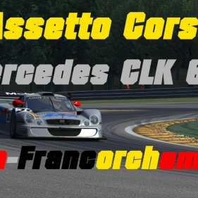 Assetto Corsa // Mercedes CLK GTR // Spa Francorchamps