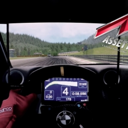 Assetto Corsa -  Nissan GTR GT3 @ Spielberg - Onboard Triple screen