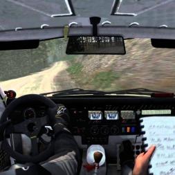 Dirt Rally Pays De Galles Pant Marw Reverse Peugeot 205 t16 Evo 2 (10 ème temps)
