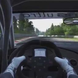 Project CARS Audi R8 LMS Ultra Nordschleife contre la montre 6.47.161
