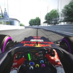 Assetto Corsa - Verstappen / Alonso / Vettel onboard in Monaco