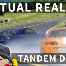Oculus Rift CV1 - Toyota Supra Twin Drift & Tandems