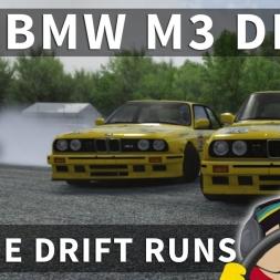 E30 BMW M3 VR Drift Practice Online | Assetto Corsa [Oculus Rift CV1 + T300RS]