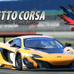 Assetto Corsa | Special Event: The new black: Gold | McLaren 650S GT3 @ Silverstone Circuit GP