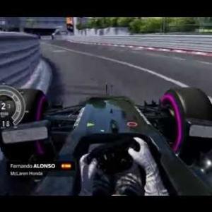 Assetto Corsa F1 2016 Alonso Onboard Monaco