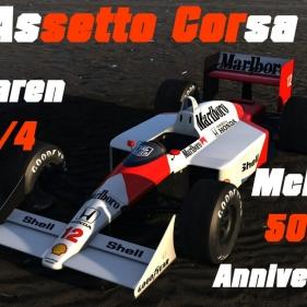 Assetto Corsa // Mclaren 50e anniversaire // Mclaren MP4/4 // Interlagos
