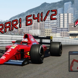 Assetto Corsa * Ferrari 641/2 * Monaco 1988 new TVcam [download]