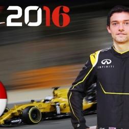F1 2016 Singapore GP Jolyon Palmer Season