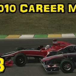 F1 2010 Career - Race 18 - Brazil - Hamilton vs Rosberg