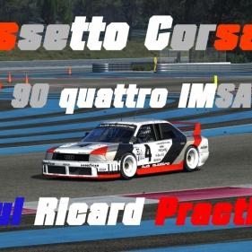 Assetto Corsa // Audi 90 Quattro IMSA GTO // Paul Ricard