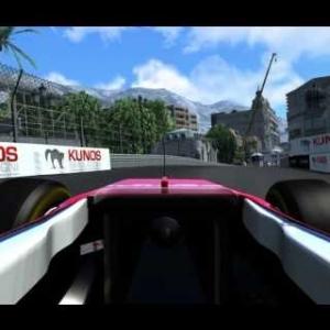 Assetto corsa F1 Monaco gp