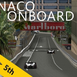 PSRL F1 2013   Monaco Grand Prix   Balazs Toldi OnBoard
