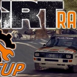 DiRT Rally Top 100 w/ Controller - Audi - Sweden - Mods - Setup Sunday