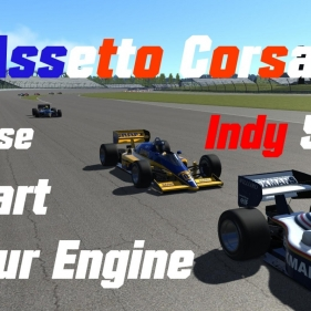 Assetto Corsa // Indy 500 is about to start // 2 laps with Lotus 98T at Indy