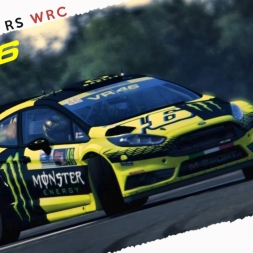 Assetto Corsa Ford Fiesta RS WRC Valentino Rossi By Rallylegends Mod + download