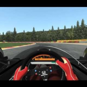 Rfactor 2 McLaren Mp4/6 Flying lap @ Spa