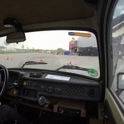 Sachsenring Trabant - Autoslalom Speyer - Hotlap + pls don't flip the Trabi