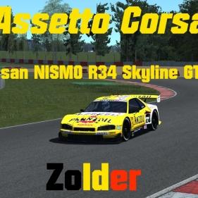 Assetto Corsa // Nissan NISMO R34 Skyline GT-R JGTC // Zolder