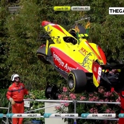 GP2 Monaco 2016 Crash Compilation