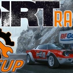DiRT Rally w/ Controller - Lancia Stratos - Monaco - Mods - Setup Sunday 1440p