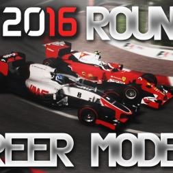 F1 2016 Career Mode Round 6 Monaco