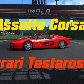 Assetto Corsa // Ferrari 512TR // Imola // Commentary :)