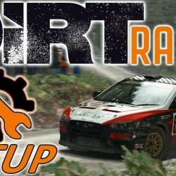 DiRT Rally Top 110 w/ Controller - Lancer Evo - Wales - Mods