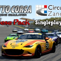 Assetto Corsa | Japanese Pack | Mazda MX-5 CUP @ Circuit Park Zandvoort
